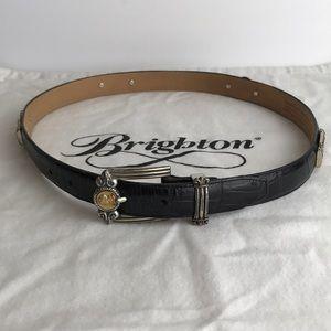 Vintage Brighton Black Belt